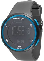 Freestyle Unisex 101378 Cadence Round Fitness Workout Gunmetal Watch