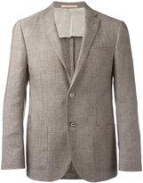 Corneliani two button blazer - men - Linen/Flax/Cupro/Viscose/Virgin Wool - 54