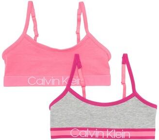 Calvin Klein Crop Bra - Pack of 2
