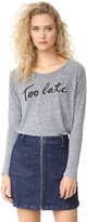 Sundry Too Late Long Sleeve