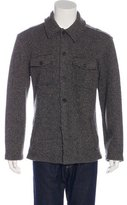 John Varvatos Wool-Blend Shirt Jacket