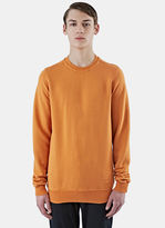 Rick Owens Drkshdw Men's Jumbo Crew Neck Sweater In Orange