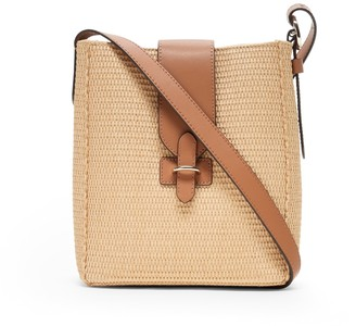 Banana Republic Straw Bucket Bag