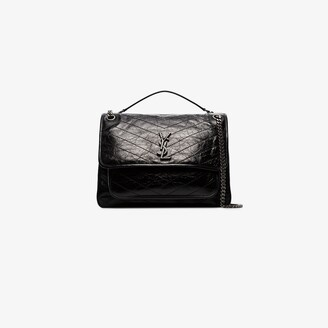 Saint Laurent black Niki large leather shoulder bag