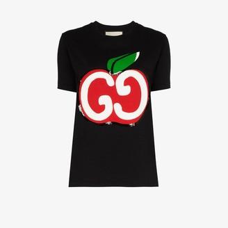 Gucci apple logo cotton T-shirt
