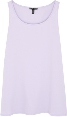 Eileen Fisher Lilac Stretch-jersey Tank