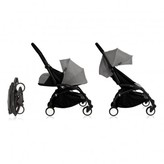 Babyzen Complete New YOYO Convertible Stroller 0-5 years, Black Frame