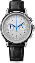 Corniche Watches Mens Chronograph Stainless Steel With White Dial