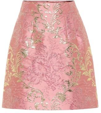 Dolce & Gabbana Brocade lame miniskirt