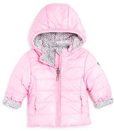 3 Pommes Infant Girls' Reversible Puffer Jacket - Sizes 3-24 Months