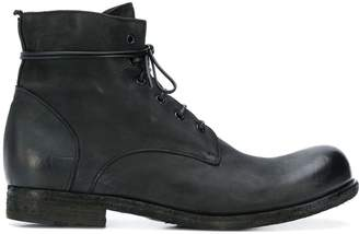 Officine Creative distressed lace-up ankle boots