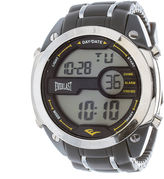 Everlast Mens Gray Silicone Strap Watch