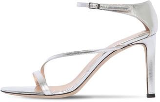 Giuseppe Zanotti 85mm Metallic Leather Sandals