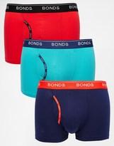 Bonds 3 Pack Guyfront Trunks - Multi