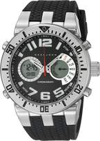 Sean John Men's 10021794 Sport Analog-Digital Display Analog Quartz Black Watch