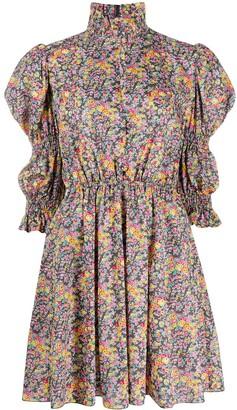 Philosophy di Lorenzo Serafini Floral Print Shirt Dress