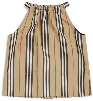 Burberry Kids Icon Stripe Halterneck Top
