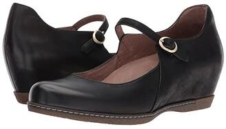 Dansko Loralie (Black Burnished Nubuck) Women's Shoes