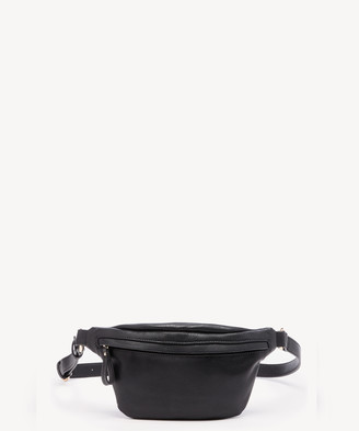 Sole Society Women's Lacie Belt Vegan Bag Leather Crossbody Black Vegan Leather From