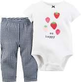 Carter's Baby Girls So Happy Berry Bodysuit Set
