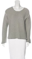 Frame Stripe Knit Sweater