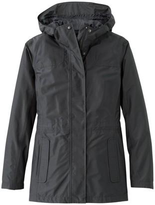 L.L. Bean L.L.Bean Women's H2OFF Rain Jacket, Mesh-Lined