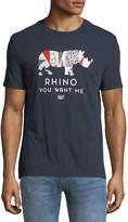 Original Penguin Men's Rhino Graphic T-Shirt