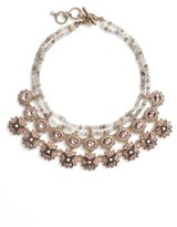Marchesa Women's Drama Frontal Necklace