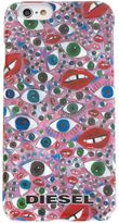 Diesel eye print iPhone 6 case - men - Polycarbonite - One Size