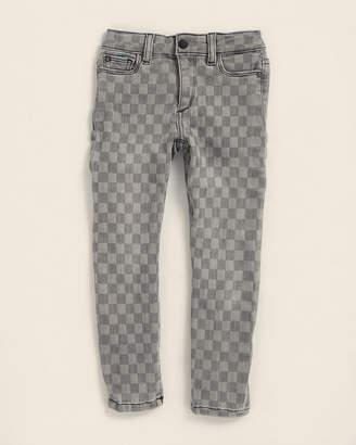 DL1961 Girls 4-6x) Chloe Checker Skinny Jeans