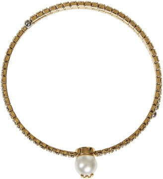 Miu Miu Crystal Embellished Necklace