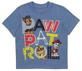 Toddler Boys' Paw Patrol Tee Shirt - Heather Blue