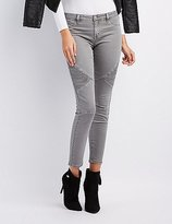 Charlotte Russe Refuge Moto Skinny Jeans
