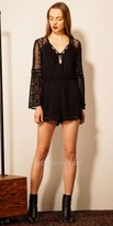 EDM Private Collection Bell Sleeve Lace Romper