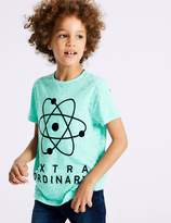 Marks and Spencer Cotton Rich Top (3-16 Years)