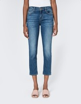 J Brand Sadey Slim Straight in Old Rose