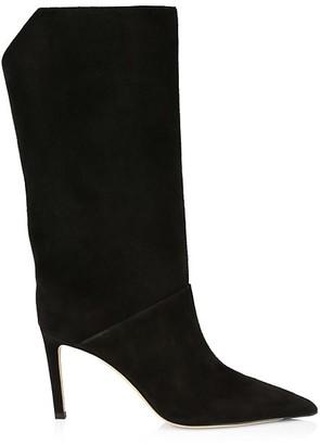 Jimmy Choo Beren Knee-High Suede Boots