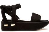 Nicholas Kirkwood Ziggy suede flatform sandals