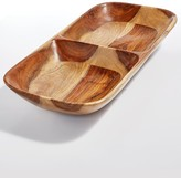 Lucky Brand Wood Divded Server