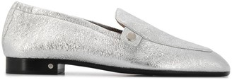 Laurence Dacade Angela 25mm metallic loafers
