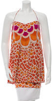 Mara Hoffman Draped Printed Top