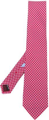 Salvatore Ferragamo All-Over Print Tie