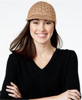 Calvin Klein Honeycomb Cable Cabbie Hat