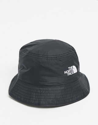 The North Face Sun Stash bucket hat in black