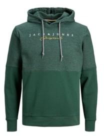 Jack and Jones Men's Color Block Long Sleeve Sweatshirt Hoodie