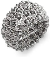 INC International Concepts Bracelet, Silver-Tone Chain and Bead Stretch Bracelet