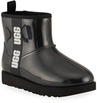 UGG Classic Mini Waterproof Clear Boots