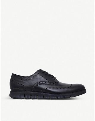 Cole Haan Cole Hann ZERØGRAND leather oxford shoes