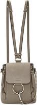 Chloé Grey Small Faye Backpack