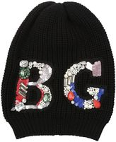 Blugirl Logo Embellished Beanie